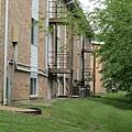 宿舍後面的防火梯