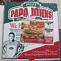PAPA JOHN'S Pizza, 無敵好吃! I lov it!