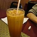 泰式料理-奶茶,好像喝糖水...