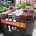 超大顆草莓,一盒$1.67