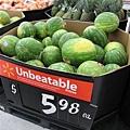 翠綠的西瓜