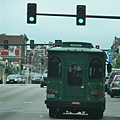 Joplin的公車(跟高雄的造型超像...)