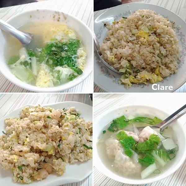 阿三哥小吃部-蛋花湯、蛋炒飯(加大)、蝦仁蛋炒飯、餛飩湯.jpg
