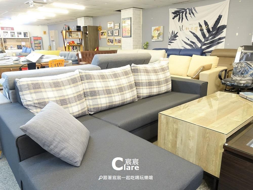 億家具批發倉庫(高雄店)-628仿羊駝布沙發組椅.JPG