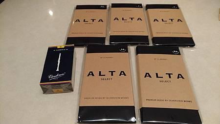Silverstein ALTA clarinet reed-compare