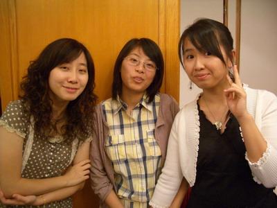這三人是四年的室友了