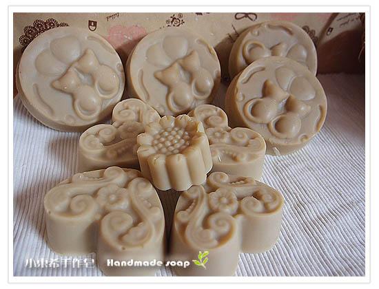 天然左手香乳皂          600g