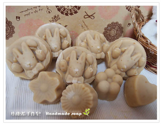 燕麥乳油木寶貝皂 600g