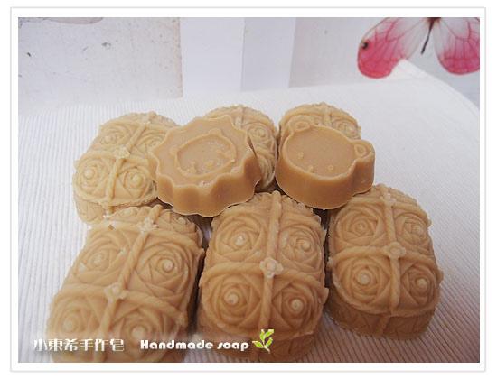 玫瑰杏桃嫩白皂600g-