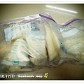 母乳含袋總重約:2620G