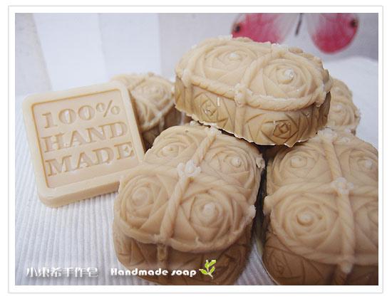 玫瑰香氛保濕皂600g