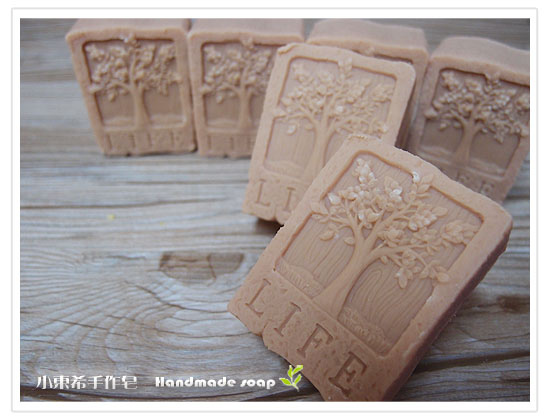 紅石泥甜杏皂600g