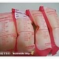母乳含袋總重約:820G
