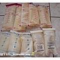 母乳含袋總重約:1940G