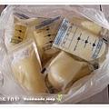 母乳含袋總重約:3000G