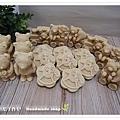 蜂蜜馬賽乳皂(無精油無味)1800g