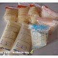 母乳含袋總重約:1250G