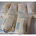 母乳含袋總重約:1217G