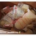 母乳含袋總重約:5697G