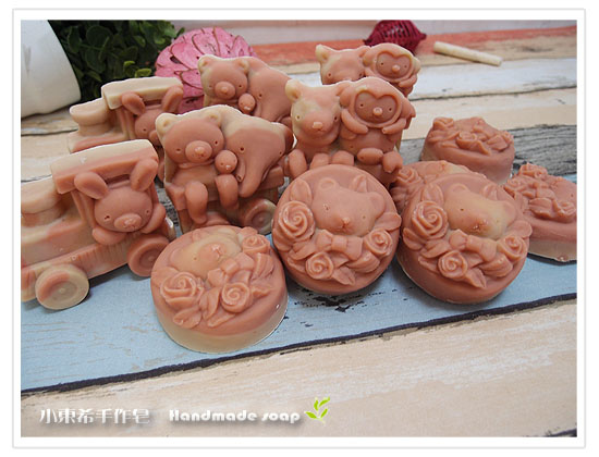 粉紅石泥乳皂1200g