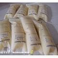 母乳含袋總重約:1635G