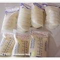 母乳含袋總重約:1485G