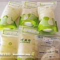 母乳含袋總重約:1290G