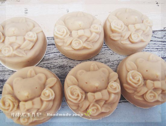 玫瑰杏桃嫩白皂 3m+  600g