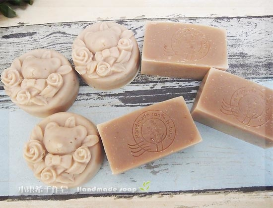 榛果嫩白洗面皂.玫瑰果 600g