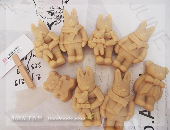 燕麥乳油木寶貝羊奶皂600g