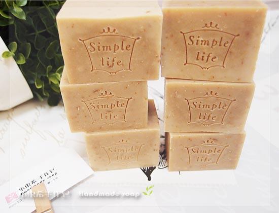 燕麥乳油木寶貝皂 3m+  600g
