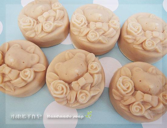 玫瑰杏桃嫩白皂 3m+600g