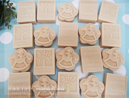 柔膚嬰兒皂(無精油無味) 0m+1800g
