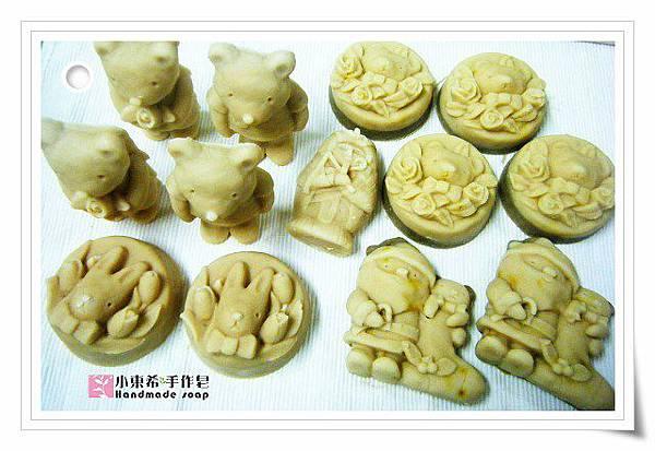 薏仁白晳乳皂600g金盞花修護寶貝皂600g