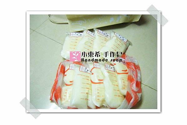 母乳冰棒含袋總重約:1260g