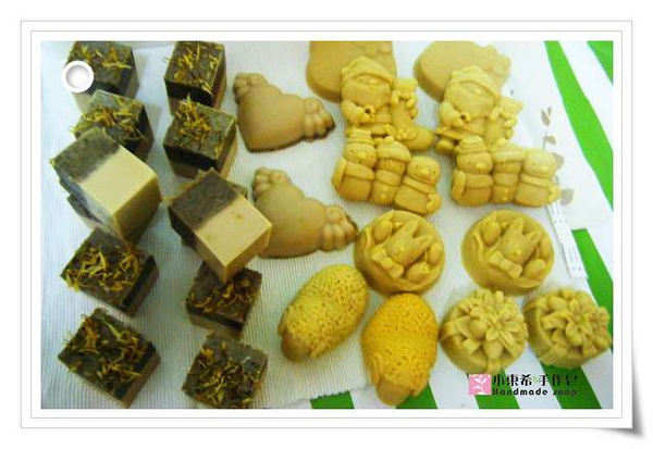 金盞花修護寶貝皂1200g酪梨寶貝皂1200g
