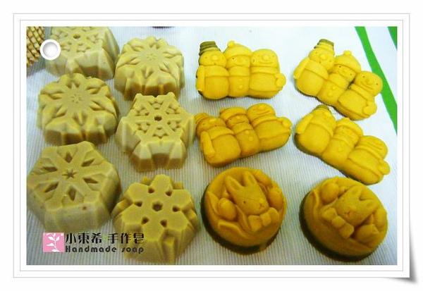 香茅艾草平安皂600g玫瑰杏桃嫩白皂600g