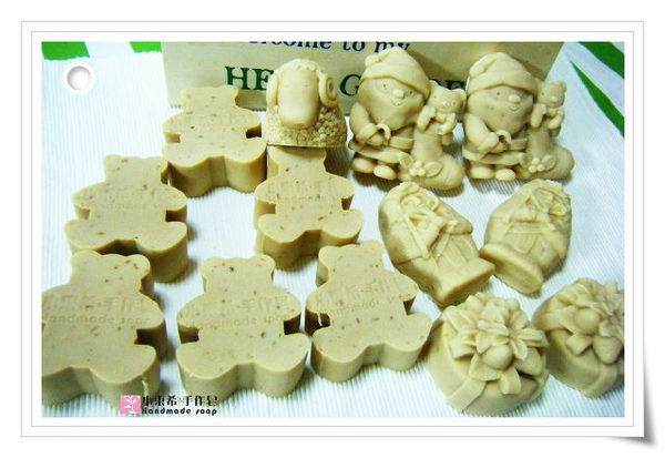 第二批母乳皂燕麥乳油木寶貝皂1200g
