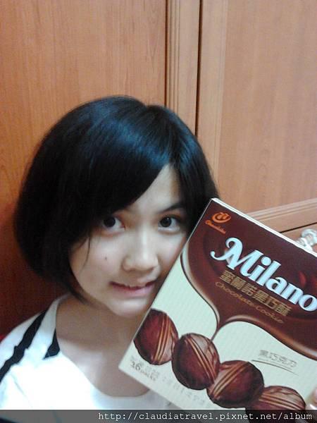 蜜蘭諾黑巧酥
