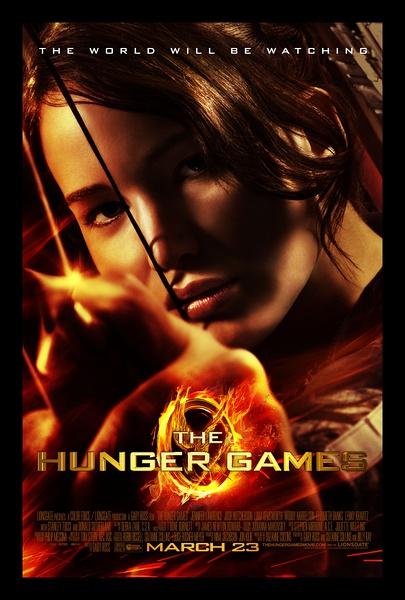 飢餓遊戲美國版正式海報