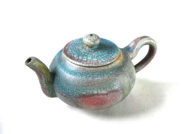 柴燒小品1--茶壺