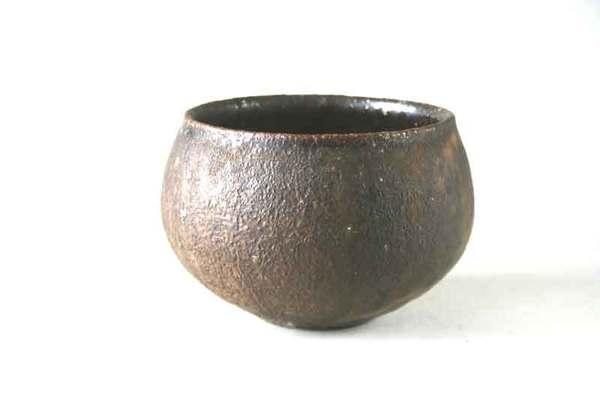 柴燒小品7--茶缽