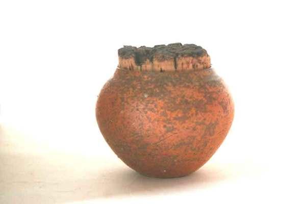 柴燒小品18--茶罐