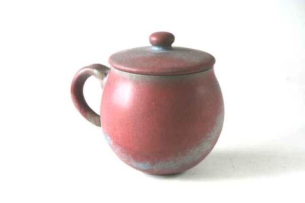 柴燒小品20--提耳蓋杯