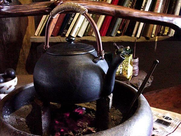 柴燒煎茶壺