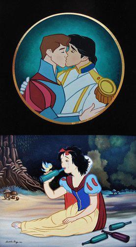 白雪公主可連