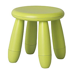 Children's stool green$5.00