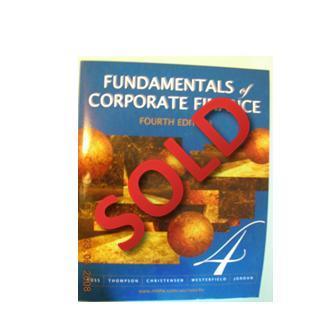 Fundamentals Of Corporate Finance  4th Ed (幾乎全新)