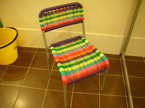 彩色椅子$10