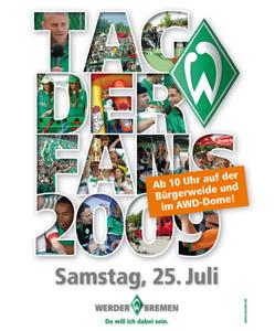 Tag der Fans 2009 poster